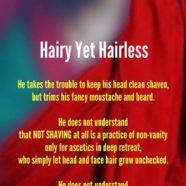 Hariy Yet Hairless