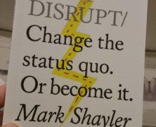 Do Disrupt!