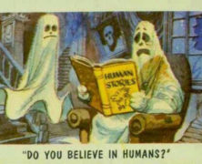 Humans Scarier Than Ghosts?