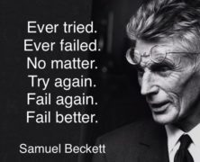 Better Fail To Better Succeed