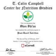 Nutrition Cert