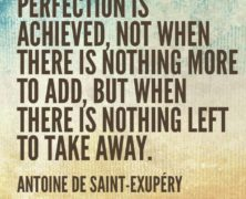 Practical Perfectionism