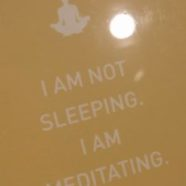 Sleeping Meditation?
