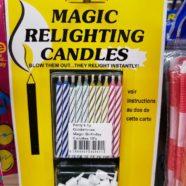 Rebirthday Candles