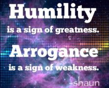 Arrogance: Super Short Story #446