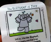 Zen Elephant of Joy