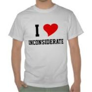 Inconsideration: Super Short Story (243)