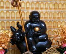Abstract Ksitigarbha Bodhisattva
