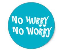 No Hurry: Sam & Sara #456