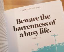 Busyness: Dharmagram #150